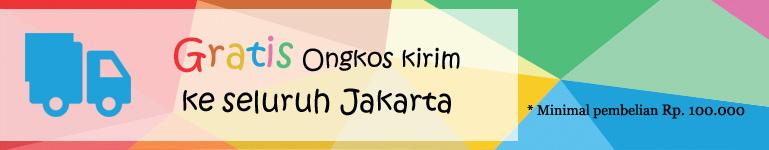 Gratis Ongkos Kirim Seluruh Jakarta